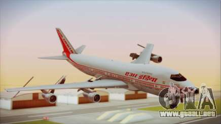 Boeing 747-237Bs Air India Kanishka para GTA San Andreas
