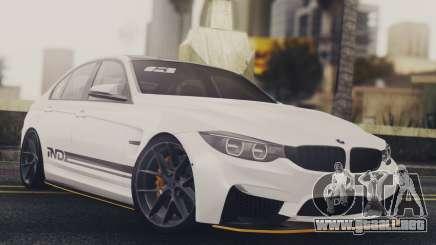 BMW M3 F30 IND EDITION para GTA San Andreas