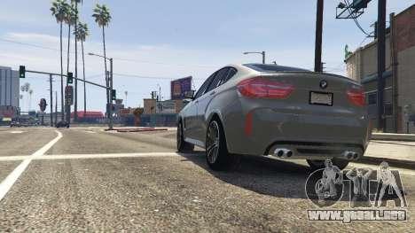 GTA 5 BMW X6M F16 Final vista trasera