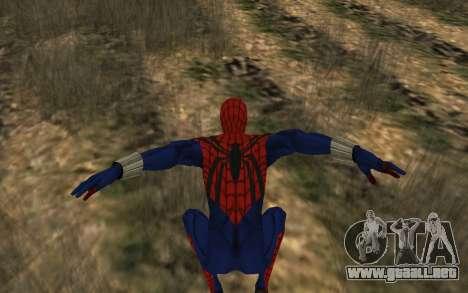 Sensacional Spider-Man Ben Reilly Robinosuke para GTA San Andreas quinta pantalla