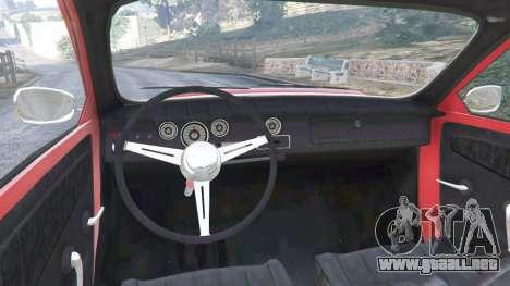 GTA 5 Saab 96 [rally] vista lateral trasera derecha