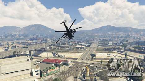 Mi-28 de la Noche del cazador para GTA 5