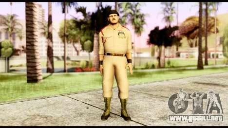 WWE Sgt Slaughter 1 para GTA San Andreas segunda pantalla