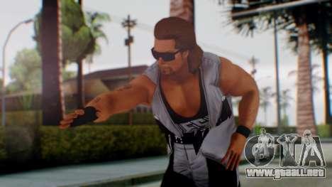 WWE Diesel 1 para GTA San Andreas