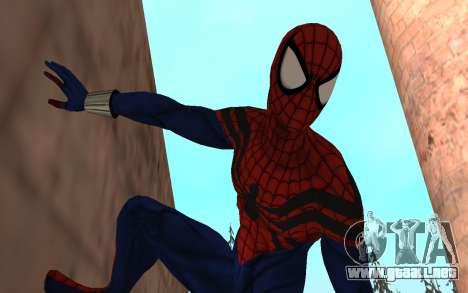 Sensacional Spider-Man Ben Reilly Robinosuke para GTA San Andreas