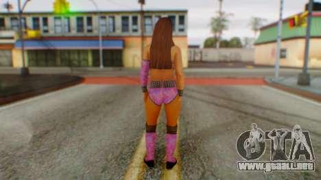 Layla WWE para GTA San Andreas tercera pantalla