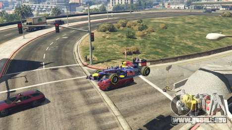 GTA 5 Red Bull F1 v2 redux vista lateral derecha