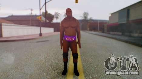 Titus ONeil para GTA San Andreas segunda pantalla