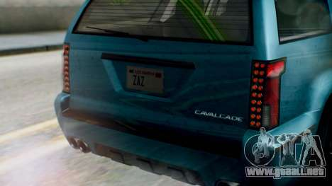 GTA 5 Albany Cavalcade II IVF para visión interna GTA San Andreas