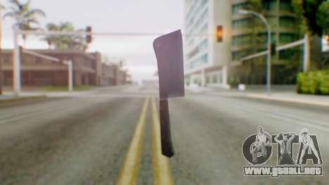 Vice City Meat Cleaver para GTA San Andreas