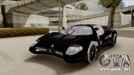 Ferrari P7-2 Shadow para GTA San Andreas