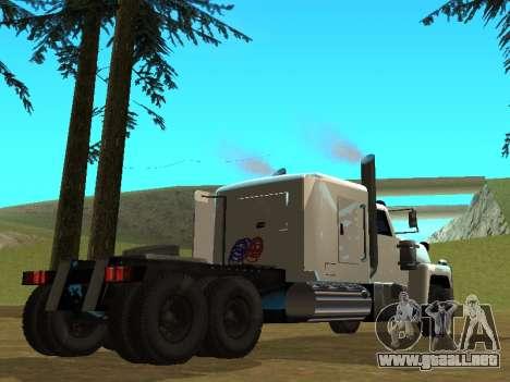 Petroltanker v2 para la visión correcta GTA San Andreas