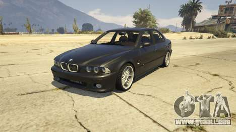 BMW M5 E39 1.1 para GTA 5