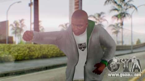 GTA 5 Franklin para GTA San Andreas