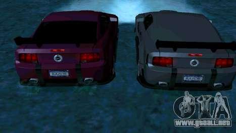Ford Mustang GT para el motor de GTA San Andreas