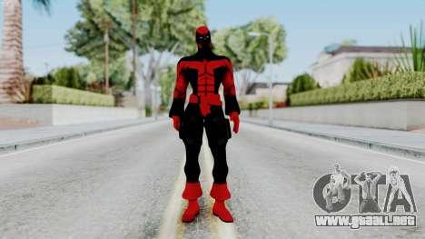 Spider-Man Shattered Dimensions - Deadpool para GTA San Andreas segunda pantalla