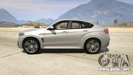 GTA 5 BMW X6M F16 Final vista lateral izquierda