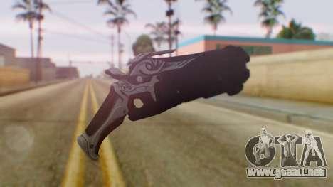 Reaper Weapon - Overwatch para GTA San Andreas segunda pantalla