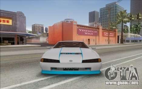 Elegy DRIFT KING GT-1 [2.0] (New wheels) para GTA San Andreas vista posterior izquierda