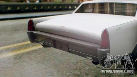 GTA 5 Vapid Chino Tunable IVF PJ para GTA San Andreas vista hacia atrás