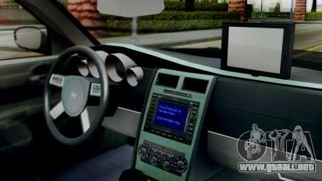 New Police SF para la visión correcta GTA San Andreas