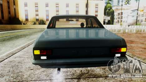 Ford Escort Mk1 para GTA San Andreas vista hacia atrás