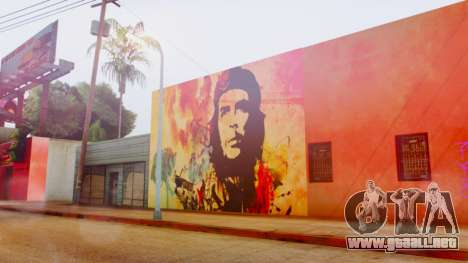 Che Guevara Grove Street para GTA San Andreas tercera pantalla
