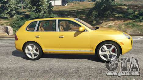 GTA 5 Porsche Cayenne Turbo 2003 vista lateral izquierda
