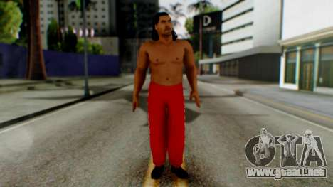 The Great Khali para GTA San Andreas segunda pantalla