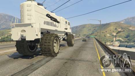 GTA 5 Monster Train volante