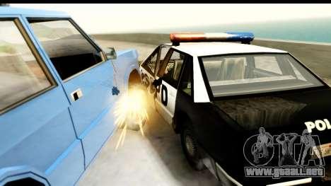 New Effects (IMFX, Shaders) para GTA San Andreas novena de pantalla