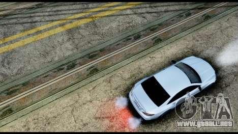 New HD Roads para GTA San Andreas sucesivamente de pantalla