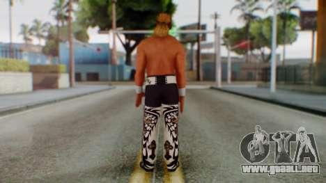 WWE HBK 3 para GTA San Andreas tercera pantalla