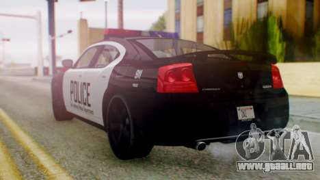 New Police SF para GTA San Andreas left