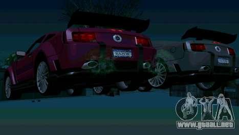 Ford Mustang GT para las ruedas de GTA San Andreas