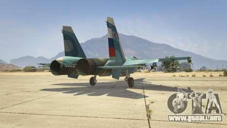 GTA 5 Su-33 sexta captura de pantalla