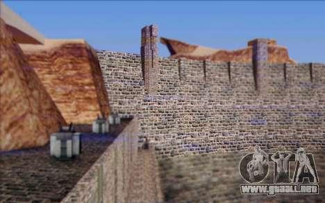 Nueva presa para GTA San Andreas sucesivamente de pantalla