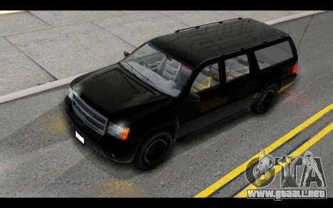 GTA 5 Declasse Granger FIB IVF para visión interna GTA San Andreas