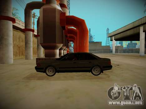 Audi 100 C4 Belarus Edition para GTA San Andreas left