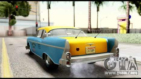 GTA 5 Declasse Cabbie v2 IVF para GTA San Andreas left