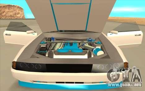 Elegy DRIFT KING GT-1 [2.0] (New wheels) para GTA San Andreas vista hacia atrás
