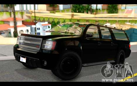 GTA 5 Declasse Granger FIB IVF para GTA San Andreas