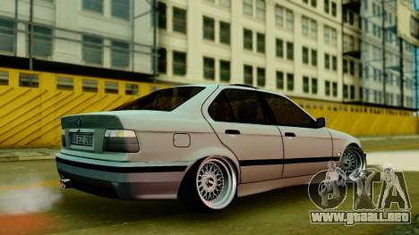 BMW 320 E36 para GTA San Andreas left
