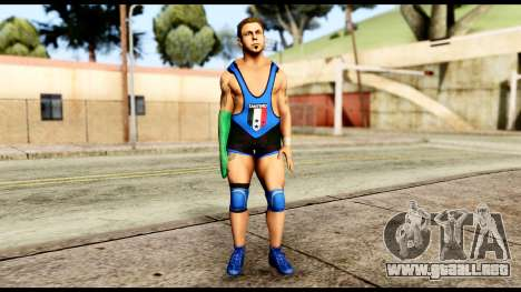 WWE Santino para GTA San Andreas segunda pantalla