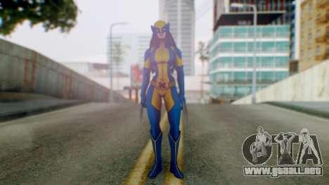 Marvel Heroes X-23 (All new Wolverine) v1 para GTA San Andreas segunda pantalla