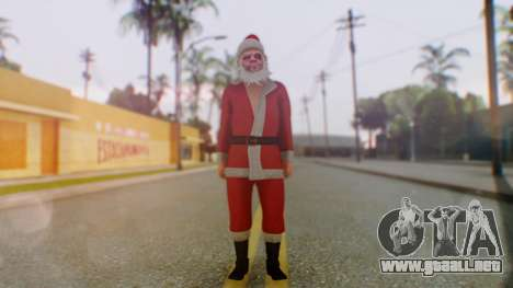GTA Online Festive Surprise Skin 2 para GTA San Andreas segunda pantalla