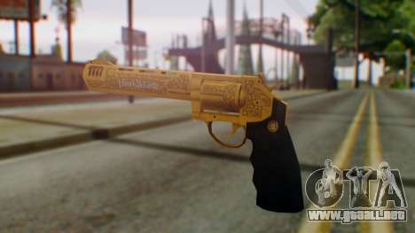 GTA 5 VIP Revolver para GTA San Andreas segunda pantalla