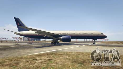 GTA 5 Boeing 757-200 segunda captura de pantalla