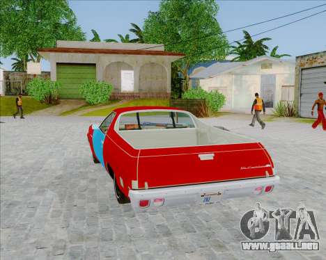 Chevrolet El Camino My Name is Earl v1.0 para GTA San Andreas left