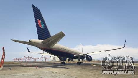 GTA 5 Boeing 757-200 tercera captura de pantalla